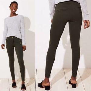 NWT LOFT Leggings in Zip Pocket Ponte